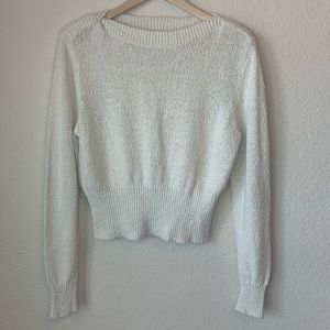Urban Outfitters cream Sweater